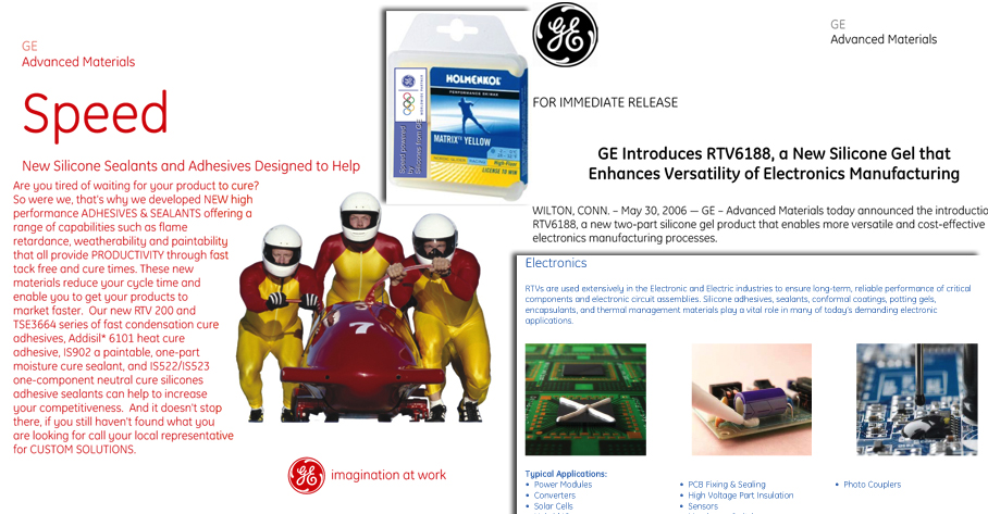 GE Advanced Material Marketing